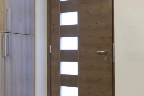 Portoncino in legno-alluminio